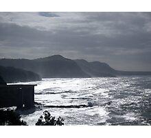 Grey Shore Photographic Print