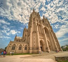 National Cathedral I by Ray Warren