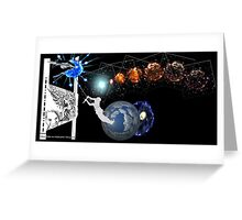 Metaphysical space within 1 Greeting Card