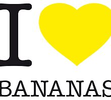 I ♥ BANANAS by eyesblau