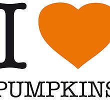 I ♥ PUMPKINS by eyesblau