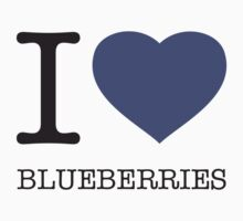 I ♥ BLUEBERRIES Kids Clothes