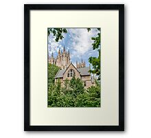 National Cathedral IV Framed Print