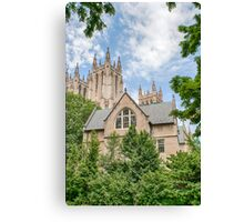 National Cathedral IV Canvas Print