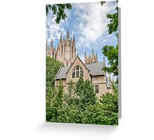 National Cathedral IV Greeting Card