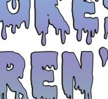 Rape Jokes Aren't Funny Sticker
