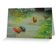 Chickens! Greeting Card