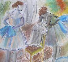 Dancers by Marion Clarke