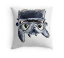 Toothless Upside Down Throw Pillow
