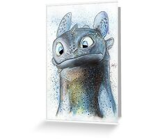 Garish Toothless Greeting Card