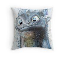 Garish Toothless Throw Pillow