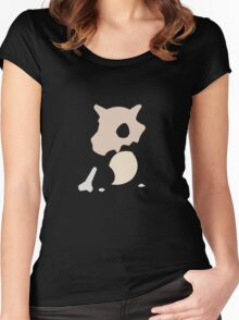 cubone2 Women's Fitted Scoop T-Shirt