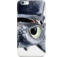 Toothless Upside Down iPhone Case/Skin