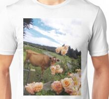 Jersey and the Rose Unisex T-Shirt