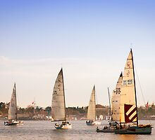 Sailing Boats by zayzay