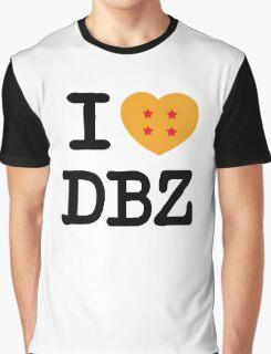 I Love DBZ Graphic T-Shirt