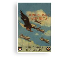 Wings over America Canvas Print