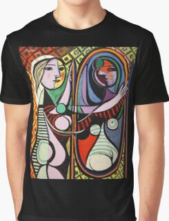 Picasso, Girl Before a Mirror Graphic T-Shirt