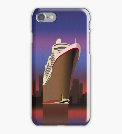 Art Deco Cruising Design for Samsung Galaxy S3&4 and iPhone iPhone Case/Skin
