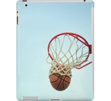 Basketball Shot iPad Case/Skin