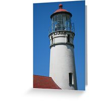 Cape Blanco Lighthouse - Color Greeting Card