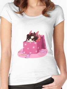 All I want for Christmas is Smauglock Women's Fitted Scoop T-Shirt