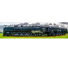 Locomotive Panorama Photographic Print