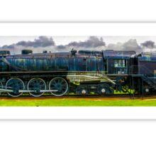 Locomotive Panorama Sticker