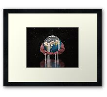 Precious Earth Framed Print