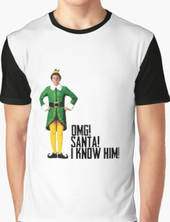 Elf - Will Ferrell | Buddy - Christmas Quote - Funny Graphic T-Shirt