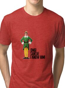 Elf - Will Ferrell | Buddy - Christmas Quote - Funny Tri-blend T-Shirt