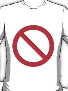 No Hash Tags White Hash (good for dark shirts) T-Shirt