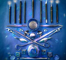 Happy Hanukkah! by Susana Weber