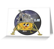 Apollo Lunar Module Greeting Card