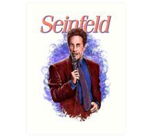 Jerry Seinfeld - TV Comedy Legend Art Print