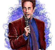 Jerry Seinfeld - TV Comedy Legend by uberdoodles