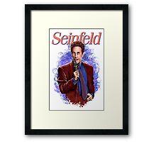 Jerry Seinfeld - TV Comedy Legend Framed Print