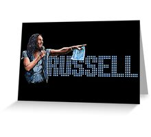 Russell Brand - Comic Timing Greeting Card
