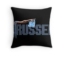 Russell Brand - Comic Timing Throw Pillow