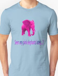 The Pink Elephant  T-Shirt