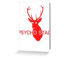 Psychostag Greeting Card