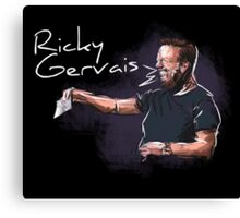 Ricky Gervais - Comic Timing Canvas Print