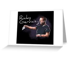 Ricky Gervais - Comic Timing Greeting Card