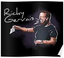Ricky Gervais - Comic Timing Poster