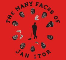 The many faces of Jan Itor One Piece - Short Sleeve