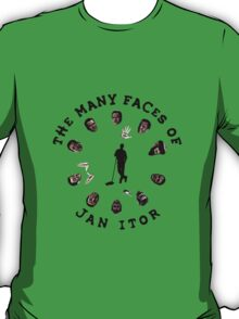The many faces of Jan Itor T-Shirt