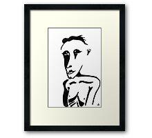 Portrait #01 Framed Print