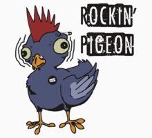 Rockin Pigeon Kids Tee