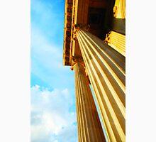 Stone columns rising to the beautiful skies Unisex T-Shirt