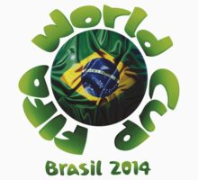FIFA World Cup Brasil 2014 [Flag] by Vidka Art